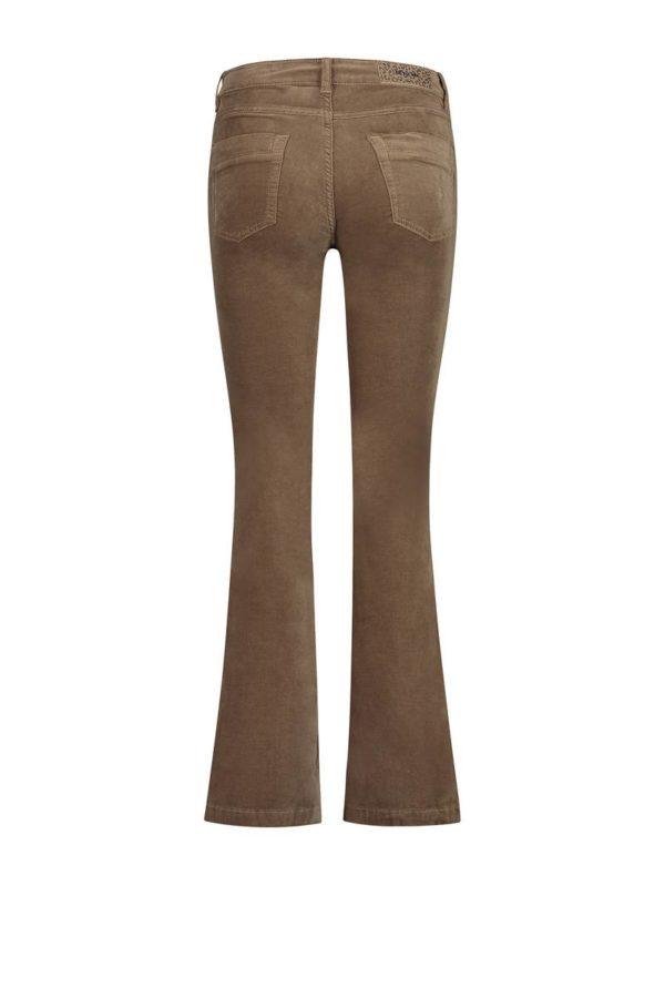 Para-Mi-broek-Jade-velvet-camel-For-Your-Pants-Only